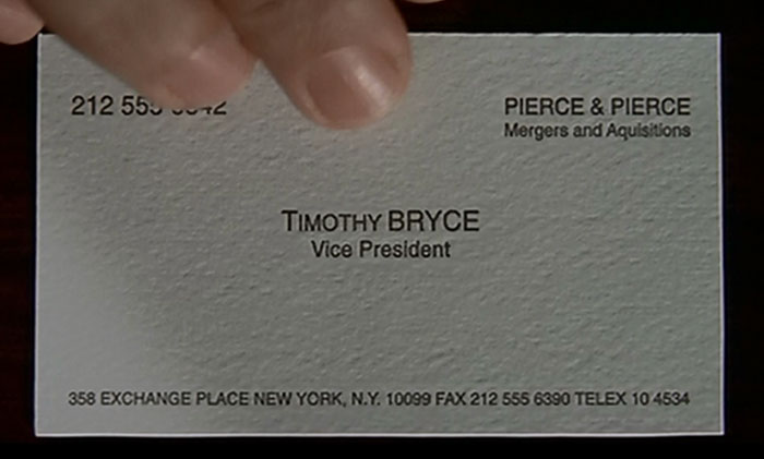 timothy bryce business card